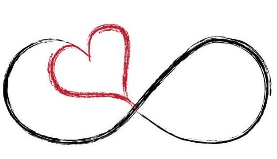 "tattoo idea. ""infinite love"""