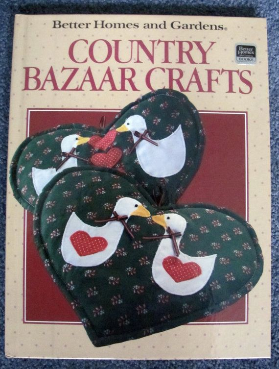 Country Bazaar Crafts Hard Cover Book  Better by GrammieJennie, $7.99