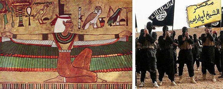 Organizzazione secondo la quale sia stata progettata e attivata dal governo Americano, facciamo un analisi storica con la Dea Iside dall'inglese... ISIS.