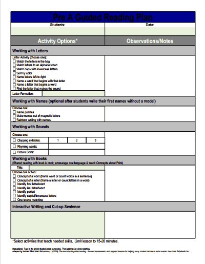 reading recovery lesson plan template - 17 best images about guided reading on pinterest reading