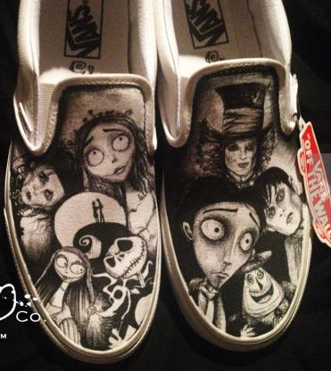 Tim Burton Shoes Johnny Depp Edward Scissorhands Corpse Bride Ni