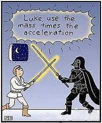 Luke, use the mass times the acceleration