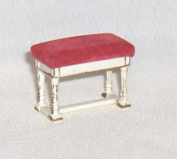 Piano Bench  Ideal Vintage  Petite Princess  Doll House Furniture by EttasEmporium on Etsy