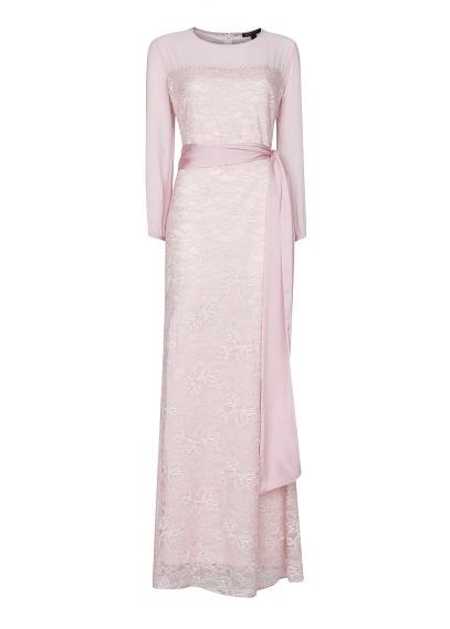 MANGO - Lace gown