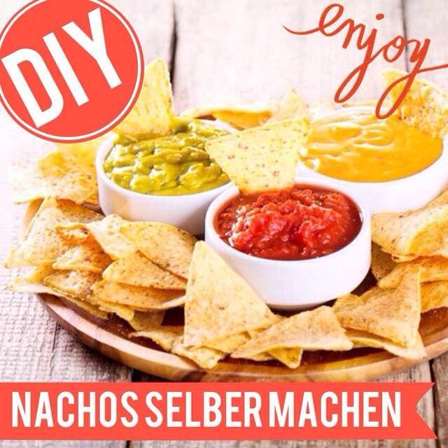 http://eatsmarter.de/ernaehrung/news/nachos-selber-machen Der perfekte Snack - und selbstgemacht schmeckt er noch mal besser.