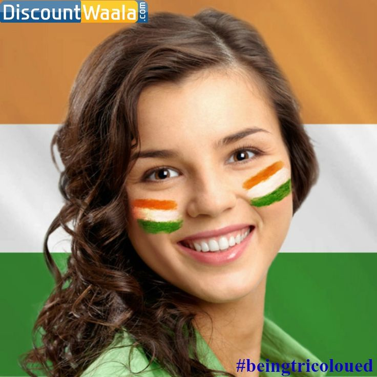 Hurry Up Wow-ie-ple's!! Start your Make Up Creativity!! #ContestAlert #beingtricoloured #BePatriotic