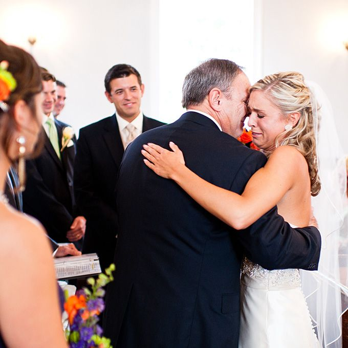 Emotional Father Of The Bride Photos