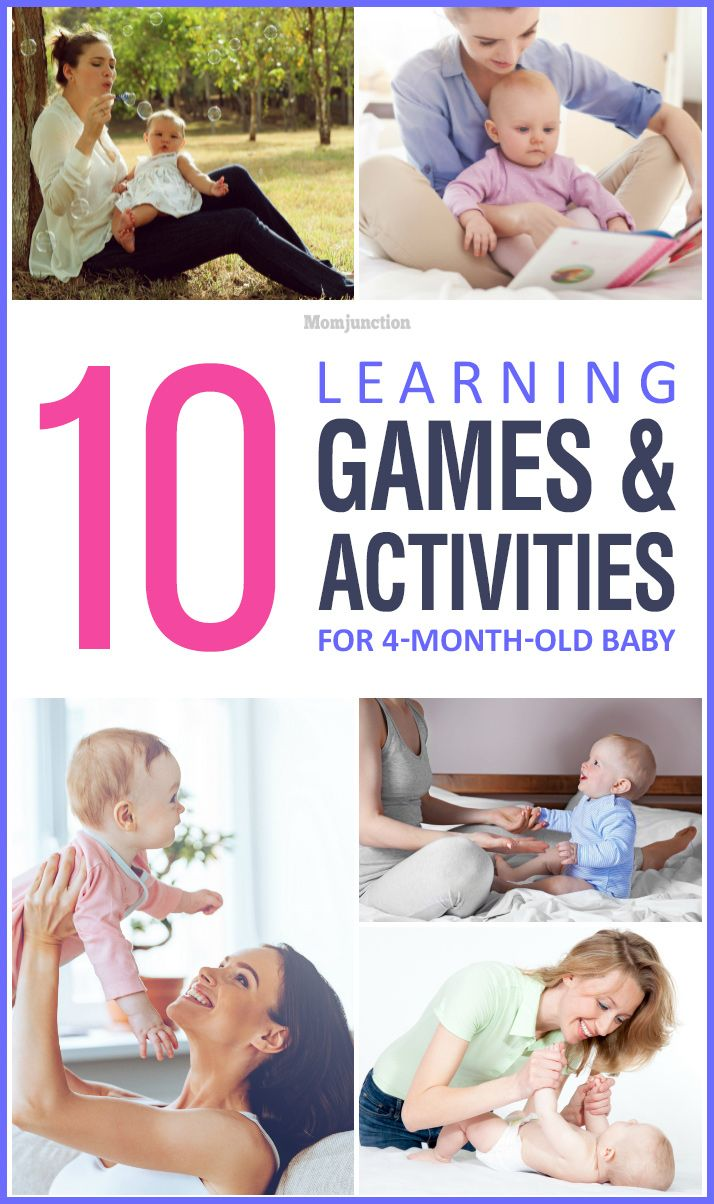 10 Learning Games And Activities For 4 Month Old Baby 4 Month Old Baby 4 Month Baby Activities 4 Month Old Baby Activities