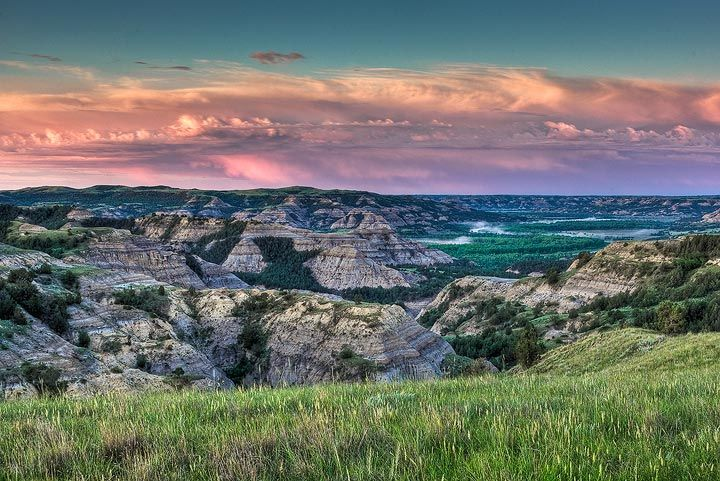 Theodore Roosevelt National Park, Little Missouri River, North Dakota
