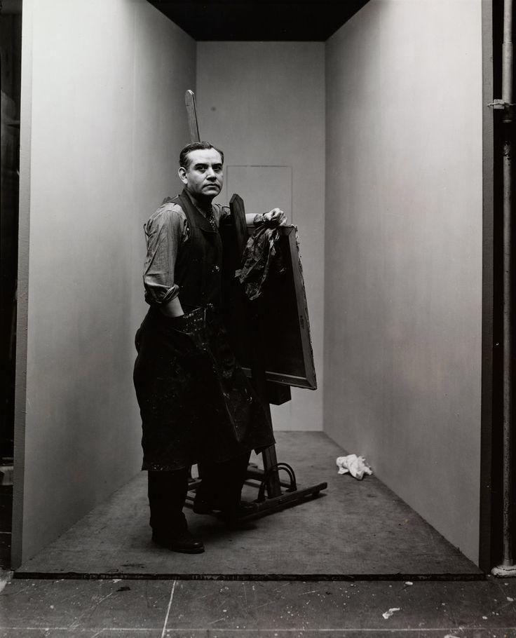 Rufino Tamayo (2 of 2) , New York, 1947 Gelatin silver print © The Irving Penn Foundation
