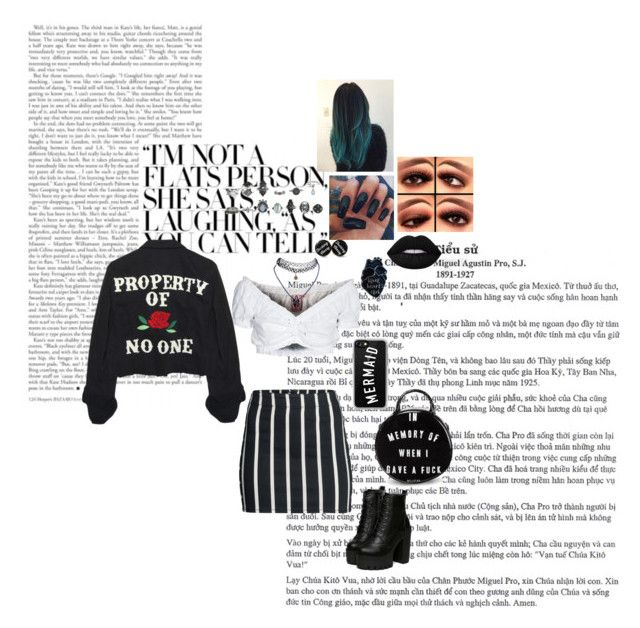 """Ultimate 90's Outfit No.6"" by afbdzjm ❤ liked on Polyvore featuring GERMAN PRINCESS, High Heels Suicide, H&M, Wet Seal, Lime Crime, Casetify, Killstar, outfit and 90s"