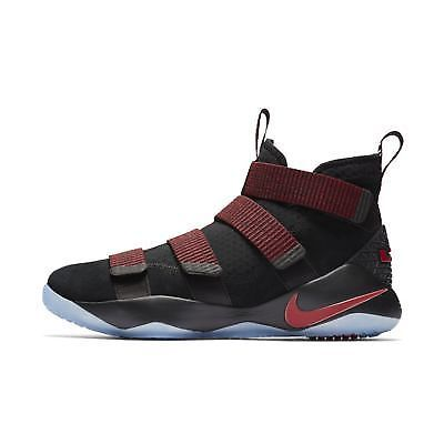 432196da57b NIKE Lebron James Soldier XI Mens Black Red Size  US 9.5  fashion  clothing   shoes  accessories  mensshoes  athleticshoes (ebay link)