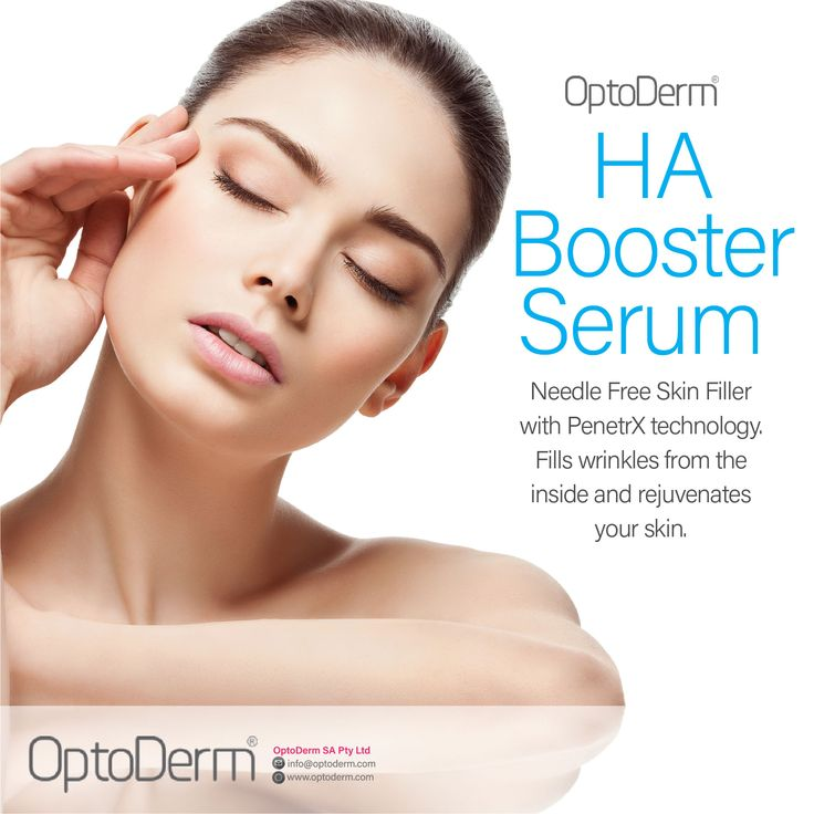 OptoDerm HA Booster Serum Needle Free Skin Filler with PenetrX technology. Fills wrinkles from the inside and rejuvenates your skin. #Optoderm #SkinlogicGeorge #Skinlogic