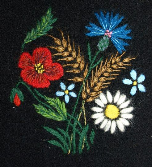 Muhu embroidery