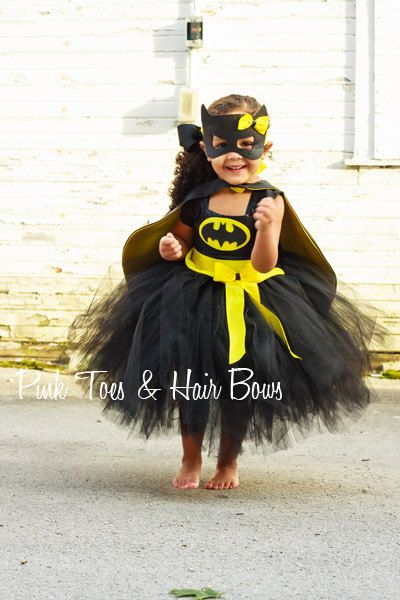 Batgirl costume Bat girl tutu costume Batman by GlitterMeBaby