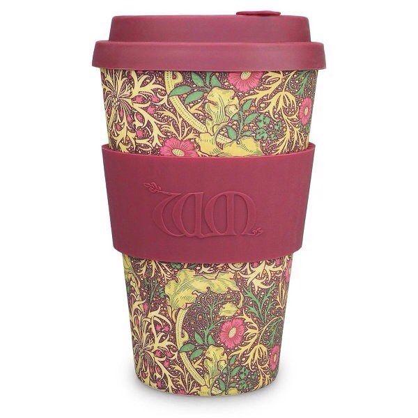 New limited edition eCoffee Cup - William Morris Seaweed #ecoffee #ecoffeecup #coffee #travelmug #sustainable #reusable #williammorris