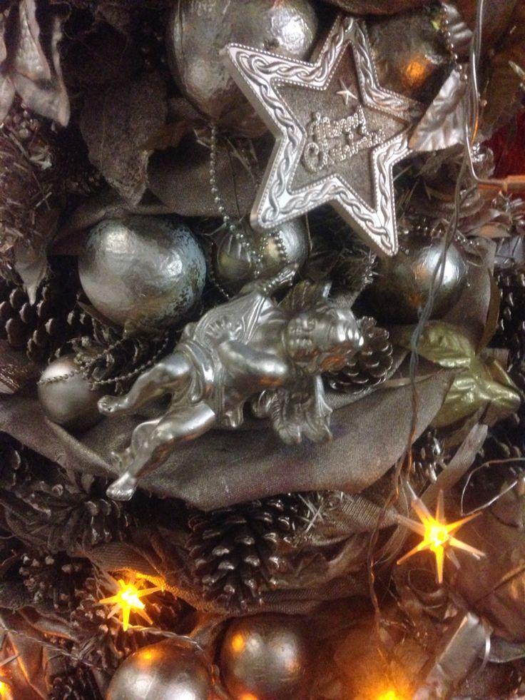 Detalhe árvore de natal