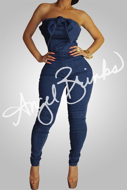 Tie The Knot Dark Jean | Shop Boutique on Angel Brinks