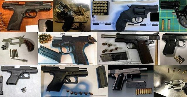 tsa TSA officers discovered 62 firearms last week in carry-on bags around the nation. Of the 62 firearms discovered, 55 were loaded and 20 had a round chambered. … While firearms are prohibited in carry-on bags, you can pack them in your checked baggage as long as you meet the packing guidelines at TSA.gov … As a refresher, carry-on bags go into the cabin of the plane with you. Checked bags go into the cargo hold of the plane where passengers have no access. … When firearms are discovered at…