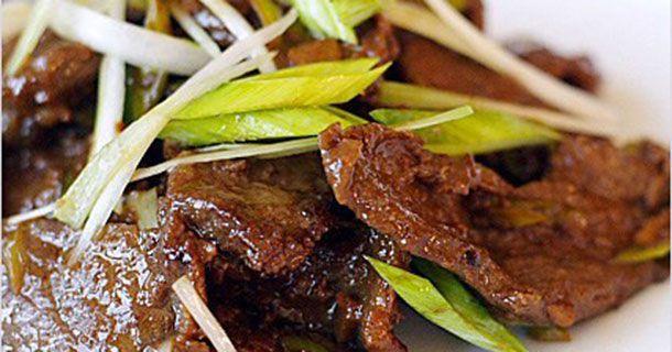 La recette du vendredi: boeuf mongol! |