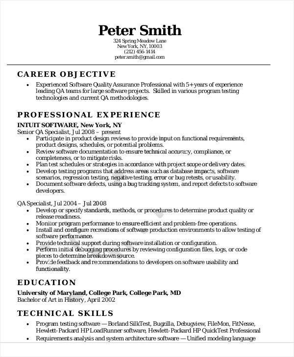 Resume Format Quality Assurance Pharma Resume Examples Job Resume Samples Job Resume Examples