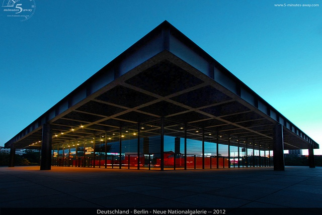 Neue Nationalgalerie by 5 Minutes Away, via Flickr