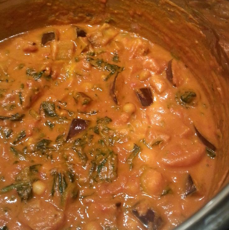 Staring at the Sea ~ Sweet Potato & Chickpea Stew