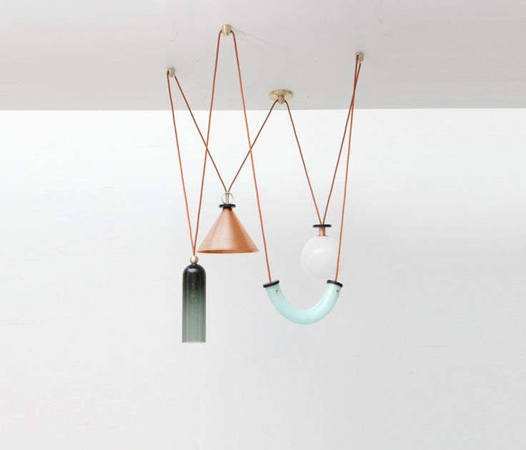 L&G Studio SHAPE UP is a versatile lighting series in celebration of geometric shapes, and materials.