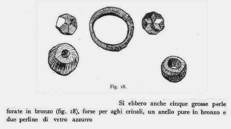Bronzo di Abini, Teti. Taramelli 1931