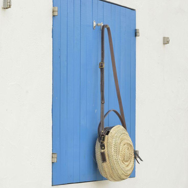 Capazo redondo pequeño, hecho a mano en España