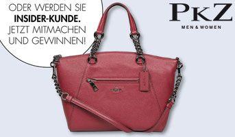Hättest du gerne eine neue Handtasche? Dann mach mit und gewinne mit PKZ und ein wenig Glück eine stylische Coach-Tasche von Sindi Arifi.  https://www.alle-schweizer-wettbewerbe.ch/gewinne-stylische-coach-tasche/