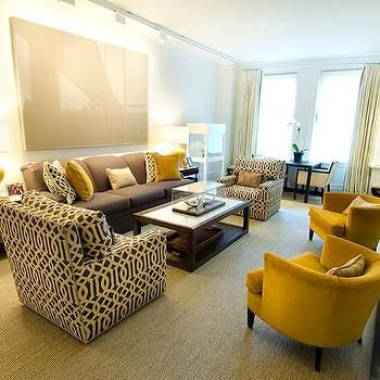 Kelly Wearstler Fabric, Contemporary, living room, Christina Murphy Interiors