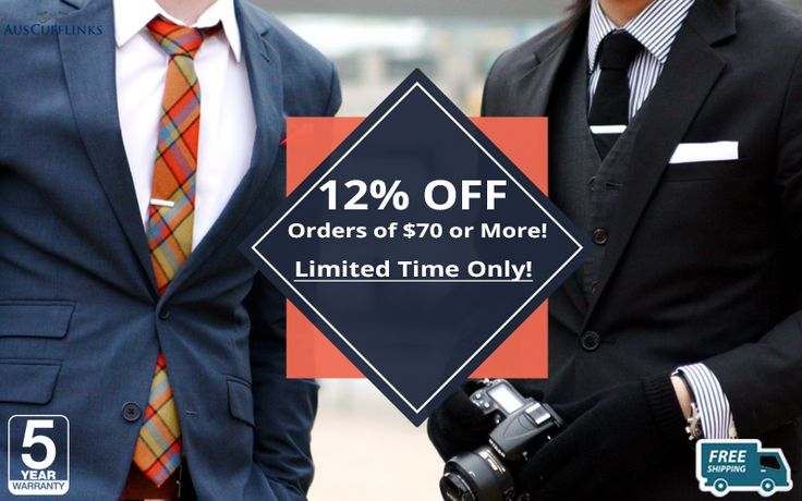 #AusCufflinks is proud to announce the huge sale. 12% OFF, Orders of $70 or More - Huge Collection and Latest Designs... Free Shipping - 5 Year Warranty.   #Cufflinks #Ties #PocketSquares #MenAccessories