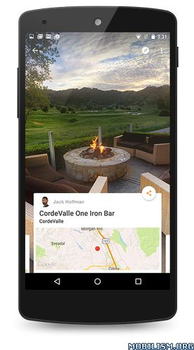 Google Street View v2.0.0.149018515Requirements: 4.4+Overview: With Google Maps Street View, you can explore the world at street level. Explore world landmarks, discover natural wonders, and step inside locations such as museums, arenas, restaurants,...