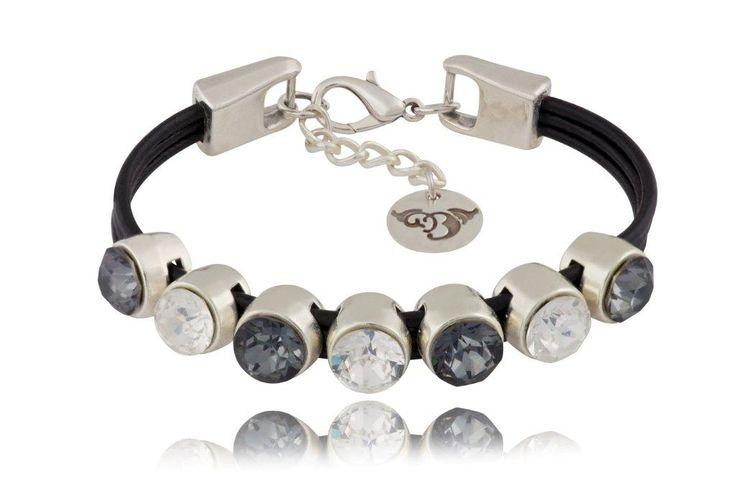 Bransoletka BIL2104  #bydziubeka #jewelry #swarovski