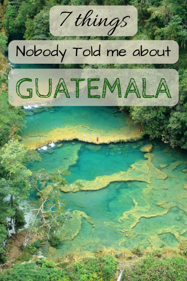 Unconventional advice on travelling in Guatemala on a budget.