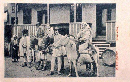 Petrozsény-Petroschen-Petrosani:havasi oláhok(románok).1904