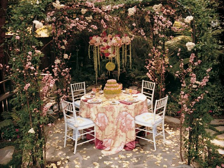 Garden Table, BBJ, Table and Chair Linens, Rentals for ...