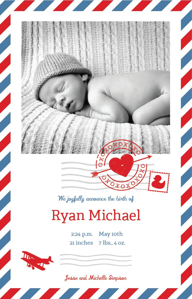 13 best Baby Shower Invitations and Birth Announcements images on – Vistaprint Baby Announcements