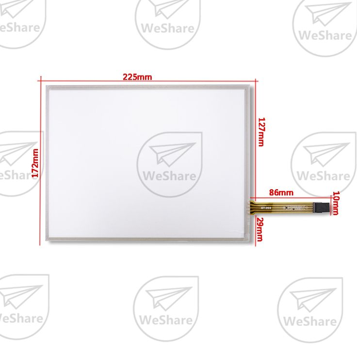 10.4 Inch 4 Wire For LQ104V1DG52 / 51 G104SN03 V.1 AMT 9509 225*173mm Resistive Touch screen Panel Digitizer Free Shipping //Price: $35.87 & FREE Shipping //     #hashtag2
