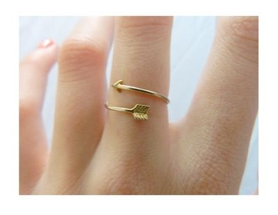 We have a bracelet version of this in stock, but the ring is so cute too!
