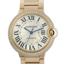 Cartier Ballon Bleu 33mm Women's Watch. Available through our Brand Name Watches auction, live now!