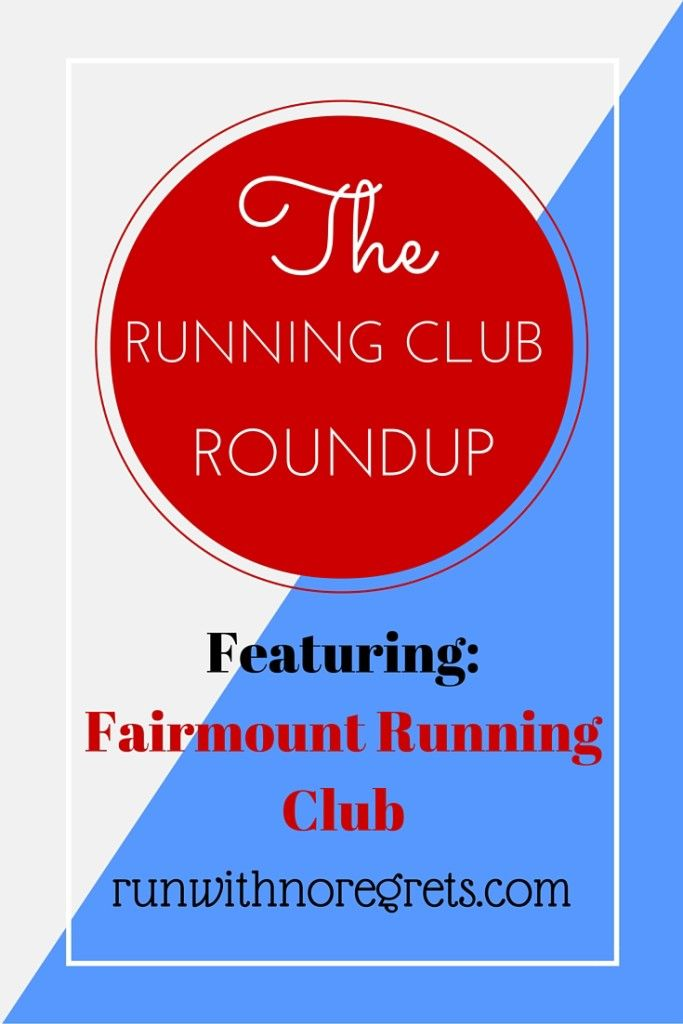 For this Running Club Roundup, I ran with the Fairmount Running Club! Check out my review! runwithnoregrets.com