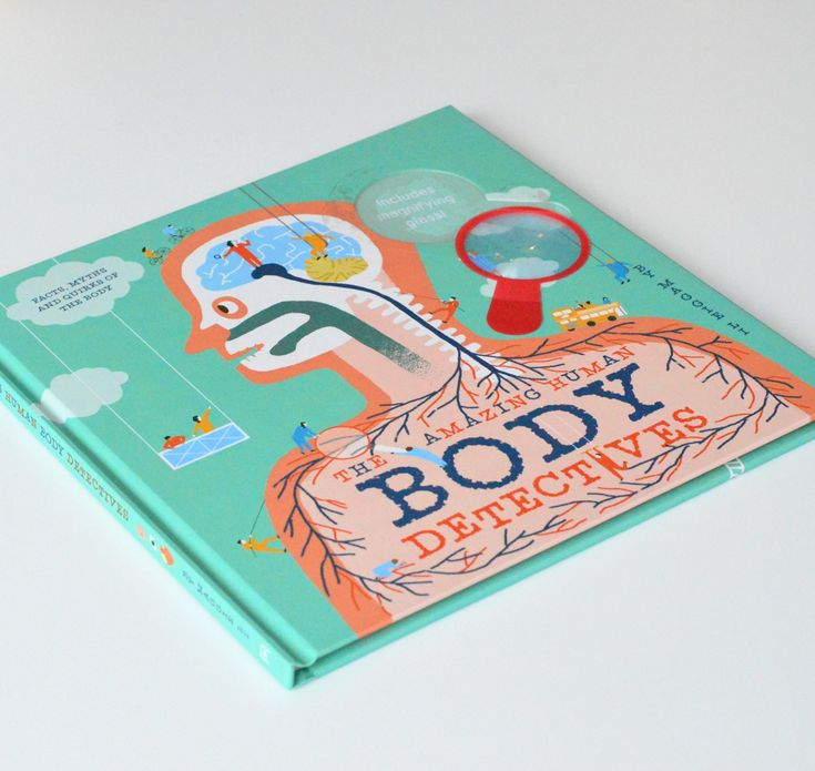 The Amazing Human Body Detectives - such a great book for 5-8 year olds. Lots of facts about the human body told in a fun, colourful and interesting way.
