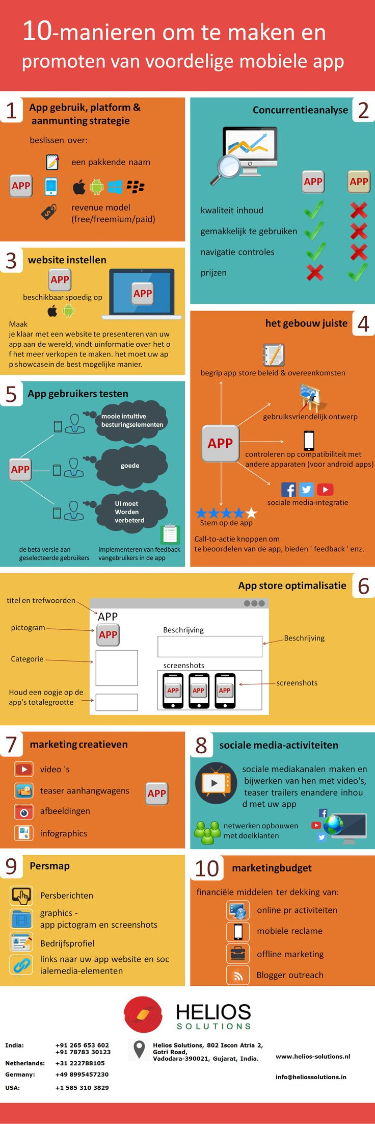 Mobiele toepassingen zijn een geweldige manier aanwezig een grote inhoud enhet ongelooflijke publiek betrokken bij het krijgen. De mobiele gebruikers zijndiep betrokken doen verschillende dingen door middel van deze apications,vereist echter er een controlelijst in de bouw en marketing van de toepassing. Meer informatie weergeven op Outsource #MobieleApplicatieOntwikkeling India #MobieleApplicatieSpecialist #FreelanceMobieleApplicatieOntwikkeling bij