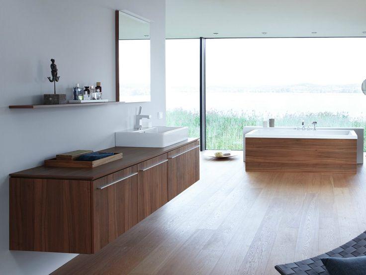 waschtischunterschrank holz ile ilgili pinterest'teki en iyi 25, Badezimmer gestaltung