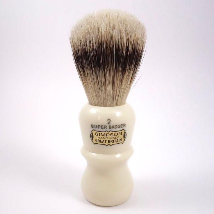 Simpsons Emperor E2 Super Badger Shaving Brush