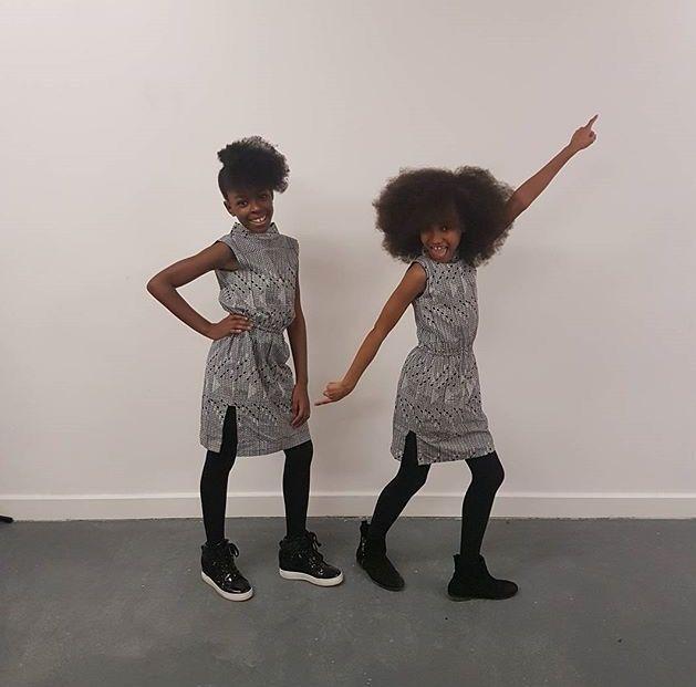 Looks Like Me cuties looking fab in Isossy Children at the Kids Fashion Runway Show #KFR2017 www.alegremedia.co.uk #alegremedia