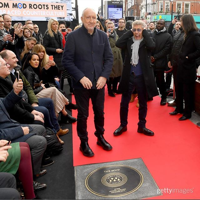 Roger Daltrey And Pete Townshend The Who Music Walk Of Fame Aurora Lux Aurora Lux Instagram Photos And Vi Roger Daltrey Walk Of Fame Pete Townshend