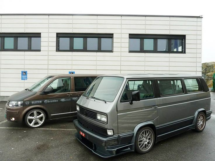 vw t3 caravelle coach mit v8 motor tuning auto news. Black Bedroom Furniture Sets. Home Design Ideas